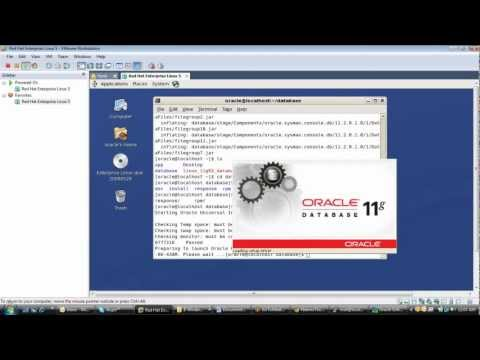 oracle database 11G installation on Oracle linux