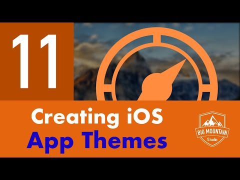 App Themes - Part 11 - Itinerary App (iOS, Xcode 9, Swift 4)