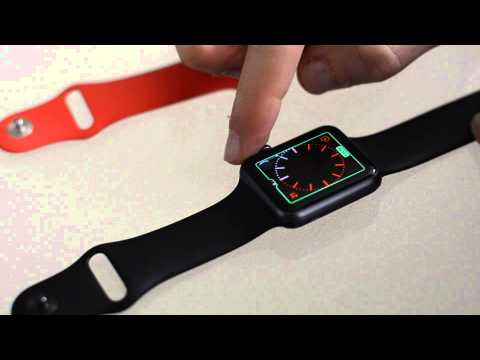 Apple Watch - How to change the clock face