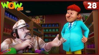 New Cartoon Show | Chacha Bhatija | Wow Kidz | Hindi Cartoons For Kids | Chalak Chor Bana Girgit