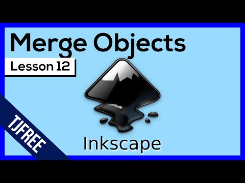 Inkscape Lesson 12 - Difference, Union, Interaction, Combine...