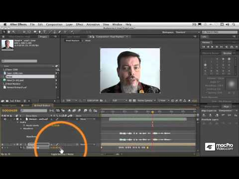 After Effects CS5 302: Cartoon Animation Basics - 11 Applying the Replacement Keyframes