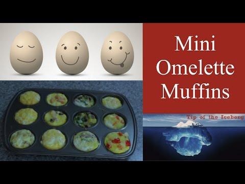 🍅 Oven Baked Mini Omelette Muffins 🍅