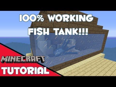 MINECRAFT FISH TANK!!! (Fixed)