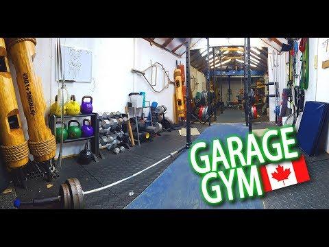 SICK Garage Gym in Toronto Canada!