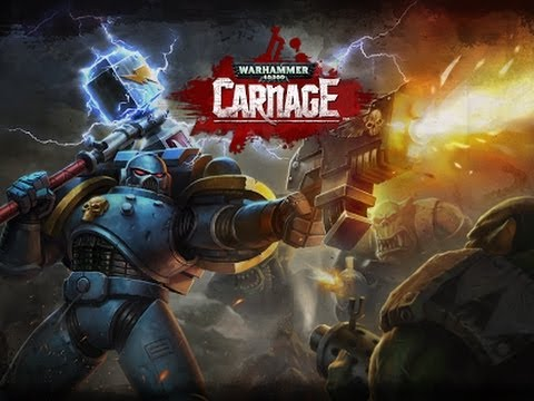 Warhammer 40.000: Carnage Android/iOS Official GamePlay Trailer