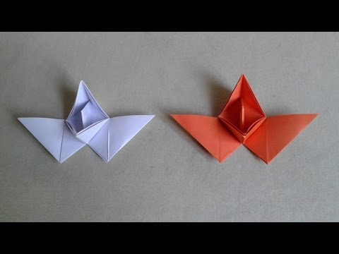 How to make a flying paper boat for kids - origami flying paper boat - paper craft