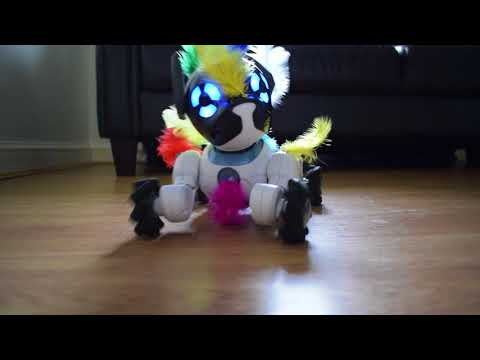ChiP the robot guard dog! WowWee CHiP Robot Toy Dog protects the house