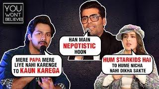 Karan Johar, Kangana Ranaut, Sara Ali Khan | Bollywood Stars Shocking Statements On NEPOTISM
