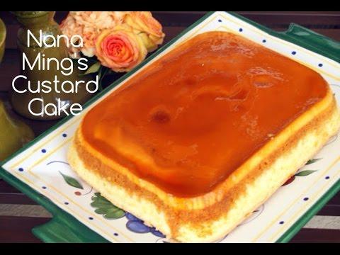 HOW TO MAKE A CUSTARD CAKE