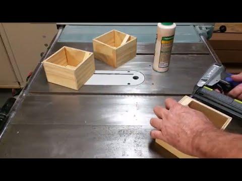 Make Small Plywood Shop Boxes - Part 3
