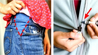33 Clothing Hacks That Will Save You A Lot Of Money