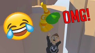 HUMAN FALL FLAT FUNNY MOMENTS! CAN HE MAKE THE JUMP?