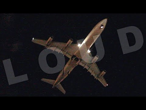 {TrueSound}™ SkyTeam Aerolineas Argentinas Airbus A340-300 LOW Takeoff from Miami
