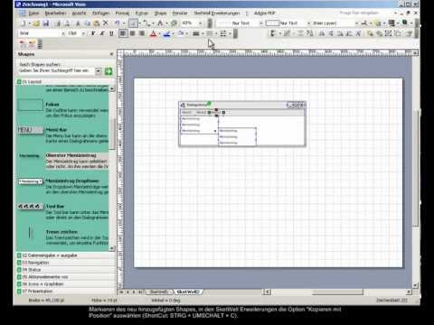 UID screencast on SketWell for Visio®