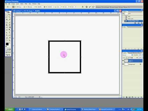tut # 4 Photoshop cs2 make a 3D box shape (cube)