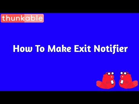 How to make Exit Notifier in  || Android App Close Button Notification Hindi Tutorial