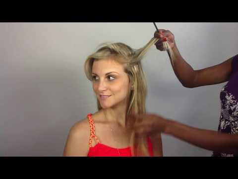 How To Apply Clip In Hair Extensions for fine thin hair