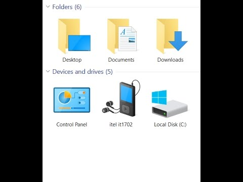 How to add the Control Panel to This PC / Windows Explorer