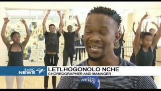 Mayibuye Dance Academy training Galeshewe youth in dance