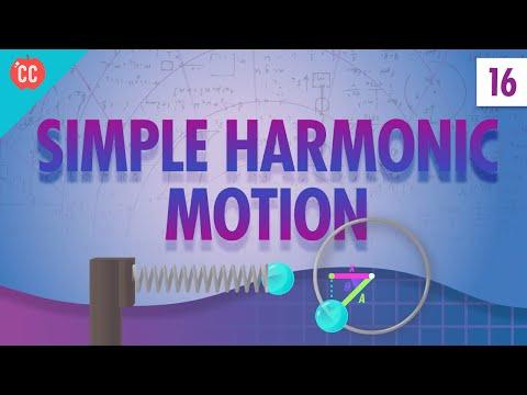 Simple Harmonic Motion: Crash Course Physics #16