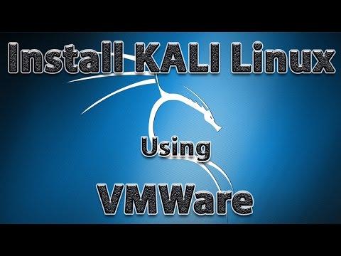 Install KALI on WINDOWS 7/8/10 using VMWARE