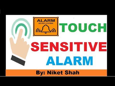 Touch Sensitive Alarm