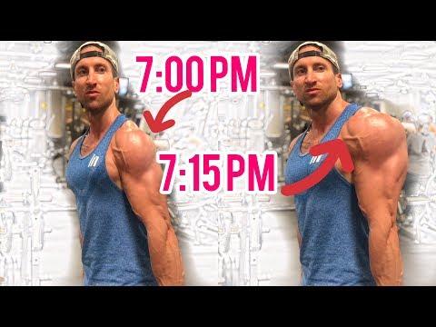 Get Huge Shoulders In 15 Minutes (BALLOON METHOD!!!)