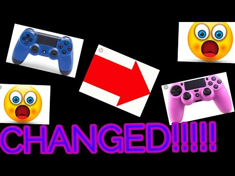 How to change colors on your PS4 controller