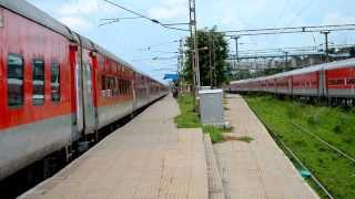 Fast And Furious Bhubaneswar Rajdhani Going Wild With GZB Red Beast