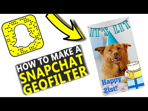 HOW TO GET YOUR OWN GEOFILTER ON SNAPCHAT 2017 - (Get Your Own personal Filter On SnapChat)