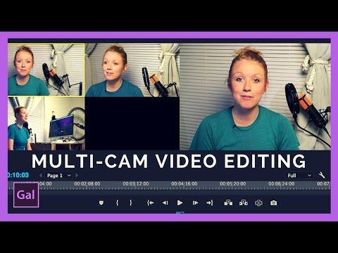 Multi-Camera Editing in Premiere Pro CC tutorial