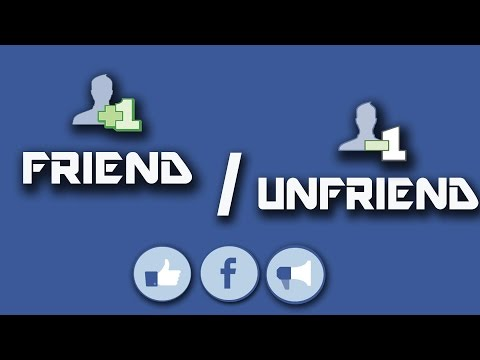 How to know if someone Unfriended you on Facebook