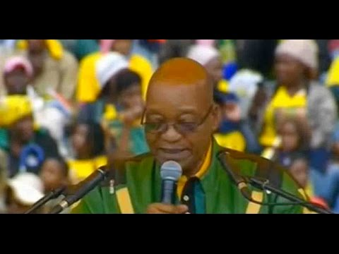 South African president calls for a stop to ANC infighting