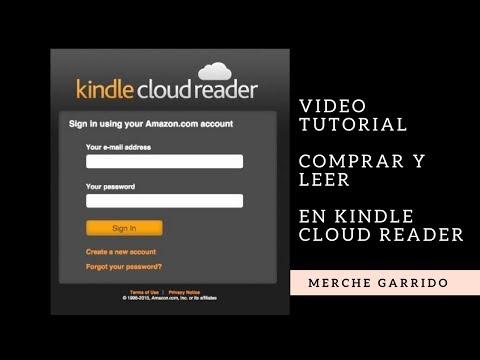 VideoTutorial Comprar Ebook y Leer En Kindle Cloud Reader