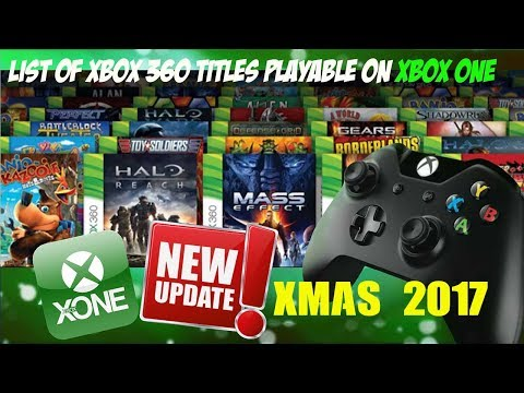 all xbox one backwards compatible games 2018