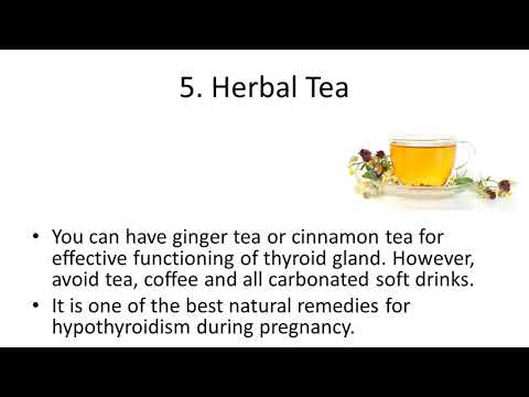 Home Remedies To Cure Thyroid During Pregnancy   Home Remedies For Thyroid Probl