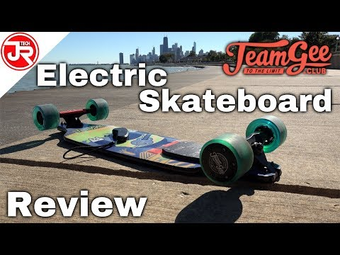 TeamGee H8 Sail Stealth Electric Skateboard Full Review
