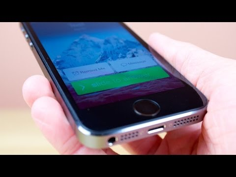 How To Decline Calls in iOS 7-10!