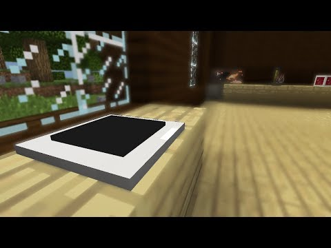 Minecraft (Bedrock): How to make an iPad (Improved)