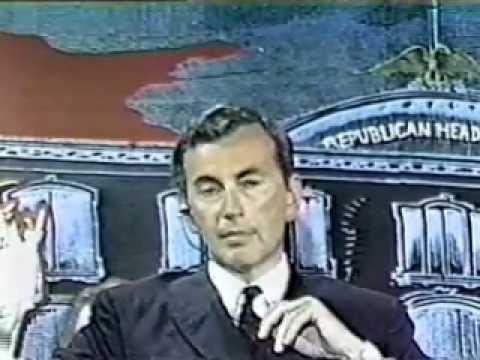 Gore Vidal vs William Buckley Republican Convention 1968 Debate 1