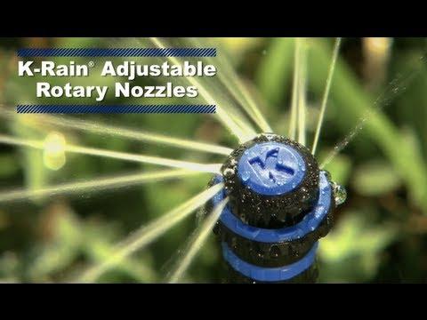 K-Rain Adjustable Rotary Nozzles