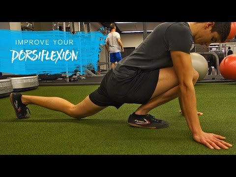 Ankle Dorsiflexion Routine (Fix Tight Ankles)