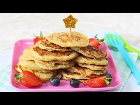 Two Ingredient Pancakes for Weaning Babies | Banana & Egg Pancakes