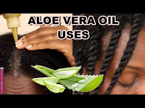 How to use ALOE VERA OIL for Hair