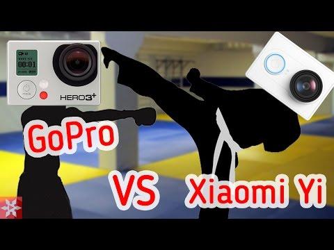 Xiaomi Yi VS GoPro Hero 3+ Black Edition