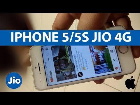 Jio 4G Iphone 5/5S Jio LTE Internet and Calling | With Proof | 100 % | Hindi \Urdu