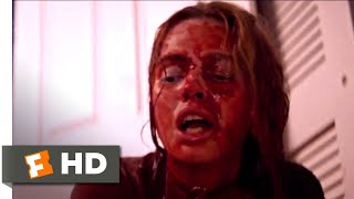 Assassination Nation (2018) - Trapped in the Bathroom Scene (7/10) | Movieclips
