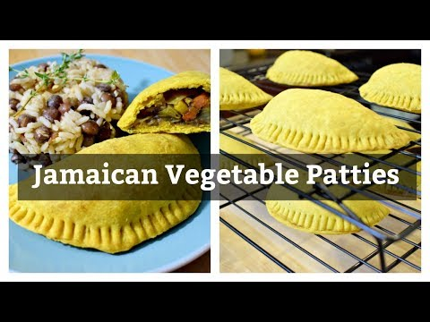 Jamaican Vegetable Patties|Solo Budget-Vegan