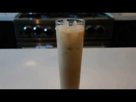 Iced Coffee - how to make easy homemade iced coffee